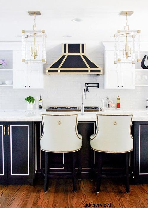نحوه انتخاب رنگ آشپزخانه