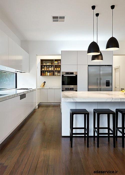 انتخاب رنگ براي آشپزخانه