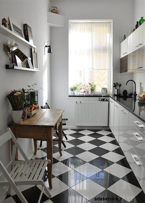 رنگ آميزي آشپزخانه